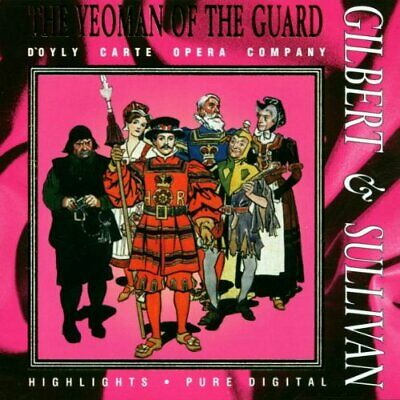 Gilbert & Sullivan: Yeomen Of The Guard -  CD XXVG The Cheap Fast Free Post The • 10.40£