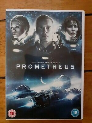 Prometheus DVD (2012), Cert 15, Very Good Used Condition, FAST & FREE POSTAGE • 1.99£