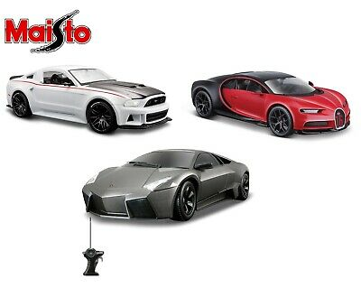 Maisto 1:24 Scale Diecast Model Car Gift Toy Bugatti Ford Lamborghini • 16.95£