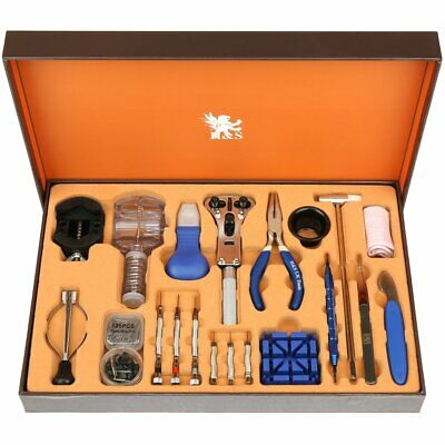 £25.99 • Buy Watch Repair Tool Kit Watchmaker Set Back Case Cover Opener Remover Spring Pin