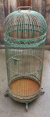 $250 • Buy Large Round Bird Cage 24  X 66  Made In Mexico 82 Pounds Local Pickup Only