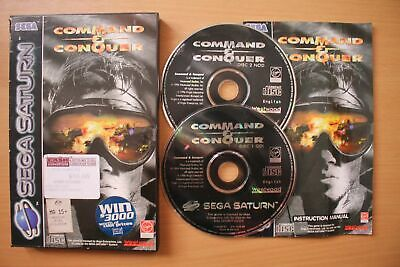 AU34.99 • Buy Command & Conquer (Sega Saturn) [PAL] - WITH WARRANTY