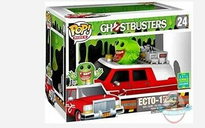 SDCC Pop Rides: Ghostbusters Ecto-1 With Slimer #24 Funko • 50.03£