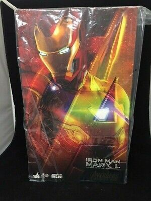 $ CDN544.14 • Buy New Hot Toys 12  Marvel Avengers Infinity War Iron Man Mark L 50 Fig 1/6 Scale *
