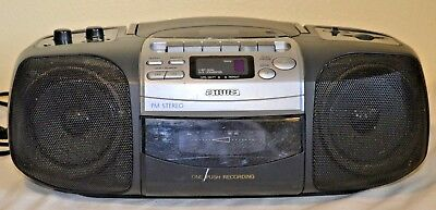 Parts Only AIWA FM Stereo Portable Cassette Recorder/Player Radio & CD Player • 10.12£