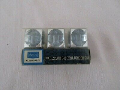 $6 • Buy Vintage SEARS FLASHCUBES  - 3 Cubes/12 Flashes - NOS