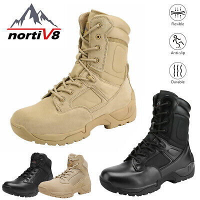 $47.79 • Buy NORTIV 8 Mens Desert Military Combat Tactical Work Boots Hiking Motorcycle Boots