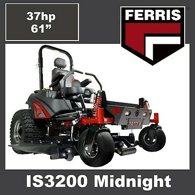 AU21499 • Buy Ferris IS3200 Midnight Limited Edition Zero Turn Mower- 37hp EFI Engine, 61  Cut