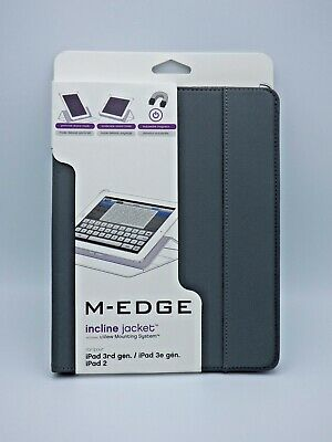 $8.99 • Buy M - EDGE Incline Jacket For IPad 3 & 2 - Grey Color - New