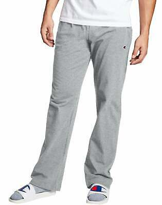 $22.50 • Buy Champion Men's Open Bottom Jersey Pants Gym W/ Pockets Authentic Light Weight