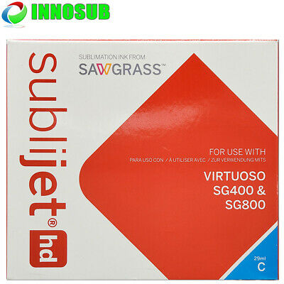 SubliJet HD Sublimation Cyan Ink Cartridge For Virtuoso SG400/SG800 - 29ml • 64.37£