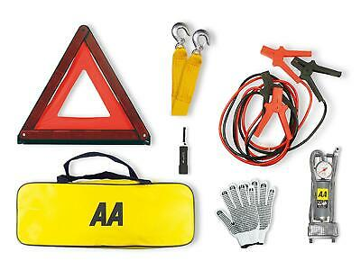 £30.99 • Buy AA Emergency Breakdown Kit Car Safety Road Side Warning Triangle Tow Rope Torch