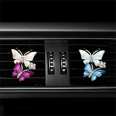 $4.29 • Buy Women Butterfly Car Perfume Clip Air Freshener Beautiful Car Accessories LJ