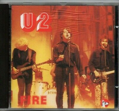 U2 -  Fire Live In Boston 3/6/81  (rare 1991 Live Italian Import Cd) Bono , Edge • 74.99$