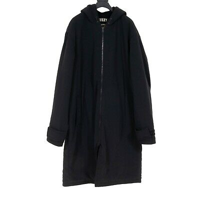 $ CDN1319.88 • Buy Yeezy - Season 1 Black Parka - Adidas - Kanye West - Size L - Made In Italy