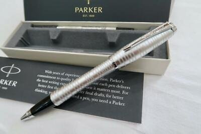 New Parker  Urban Premium Silver Pearl Rollerball Pen With Gift Box • 17£