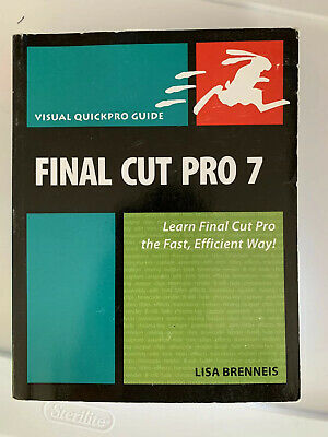 £3.35 • Buy Visual QuickPro Guide: Final Cut Pro 7 : Learn Final Cut Pro The Fast, Efficient