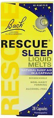 Nelsons Bach Rescue Night Remedy Liquid - 28 Melts • 6.85£