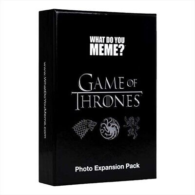 AU22.99 • Buy Card Game: What Do You Meme, What Do You Meme? Game Of Thrones Expansion Ca...