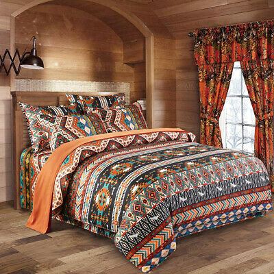 AU35.25 • Buy Oriental Mandala Doona/Quilt/Duvet Cover Set Double Queen King Size Bedding Set
