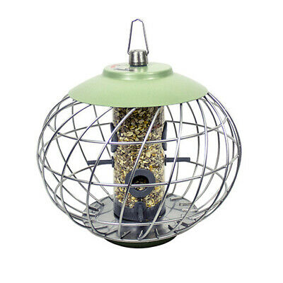 The Nuttery Helix Squirrel Proof Bird Seed Feeder - Green • 30.99£