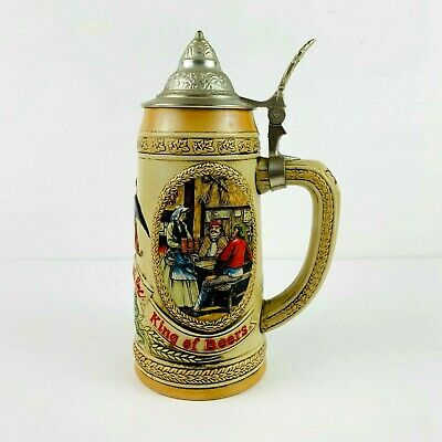 "$ CDN48.22 • Buy Budweiser 1987 Limited Edition ""J Series"" Tavern Mug Lidded Stein Vintage #79320"