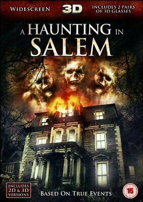 A Haunting In Salem - 3D [DVD] - DVD  7UVG The Cheap Fast Free Post • 3.49£