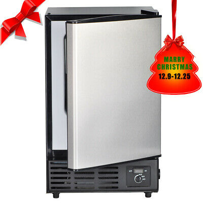 Smad Undercounter Built-In Ice Cubes Machine Stainless Steel Compact Ice Make  • 279$