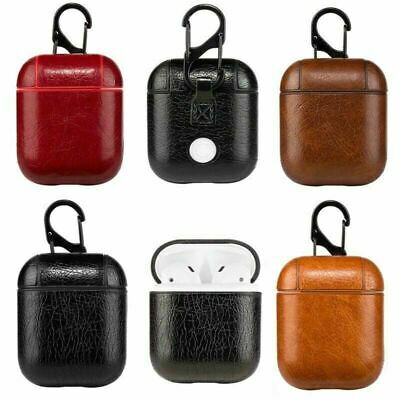 AU7.79 • Buy Shockproof Tough Leather Cover For Apple Airpods Pro Earphone Charging Case Clip