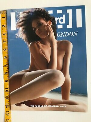 LARGE RARE World Of Wolford Catalog 2002 Lingerie Underwear NEW  12 X 9 Inches • 29.99$