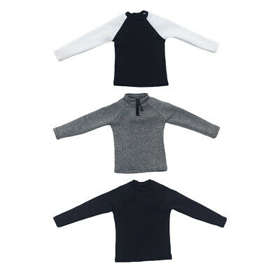 $12.36 • Buy 1/6 Male Sweatshirt Clothes For 12'' Sideshow Enterbay Male Hot Stuffed
