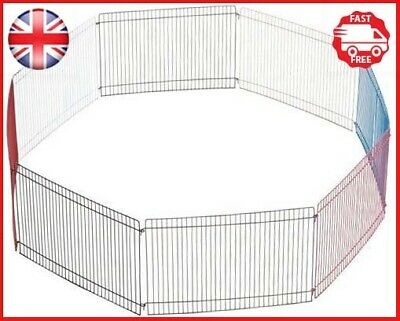 Trixie Joy Indoor Run 8 Elements Pet Hamster Guinea Pig Cage Expandable 34×23cm • 18.62£