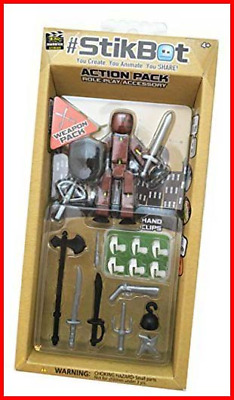 By Zing Stikbot Weapons Action Pack Assortment • 12.16£