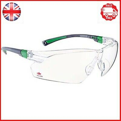 £14.66 • Buy NoCry Safety Glasses With Clear Anti Fog Scratch Resistant Wrap-Around Lenses UV