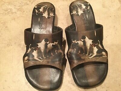 Icon Slip-on Sandals Hounds Dogs Size 7 M Excellent Condition • 28.94£