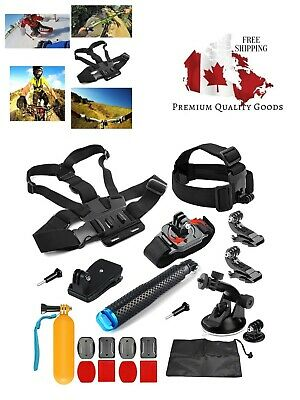 $ CDN30.99 • Buy SHOOT 21in1 Must Have Accessories Kit For GoPro Hero 8 Hero 7 Black Silver