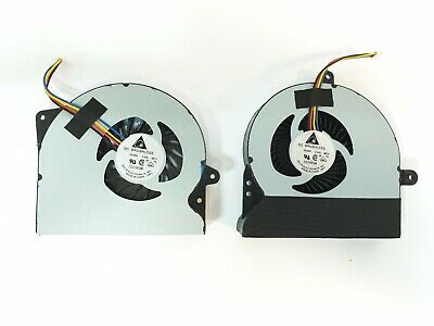 AU32.60 • Buy CPU Fan Ventilator Left And Right For Laptop PC Asus Rog G751JT