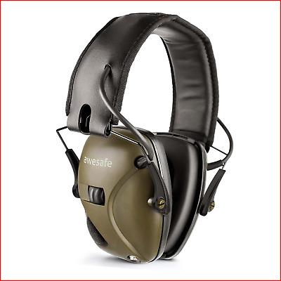 £44.66 • Buy Awesafe GF01 Electronic Shooting Earmuffs Ear Defenders Noise Reduction Sound