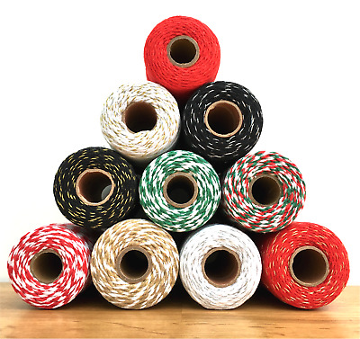 £1.65 • Buy Habicraft Bakers Twine Craft, String/Cord For Packaging, Gift Wrapping Etc