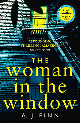 AU16.76 • Buy BOOK NEW The Woman In The Window By Finn, A J