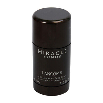 LANCOME MIRACLE  HOMME / MAN 75 ML  DEODORANT DEO Stick • 26.49£