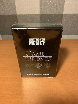 AU17.21 • Buy What Do You Meme? Game Of Thrones Photo Expansion Pack *Brand New*