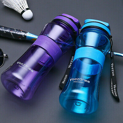AU13.99 • Buy Portable 700ML Drink Water Bottle With Filter Outdoor Sport Cycyling Plastic AU