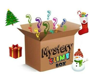 AU17.65 • Buy Christmas Slime Box (FREE SHIPPING!) 5 Different 2oz Slimes Butter,Cloud,Fluffy