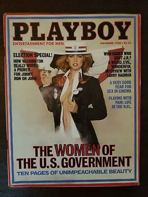 $ CDN14.03 • Buy Playboy Magazine November 1980 Jeana Tomasino Larry Hagman VERY GOOD