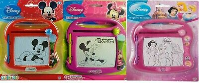 Disney Mickey Mouse,Minnie Mouse, Disney Princess To Magnetic Sketcher & Pen New • 6.49£