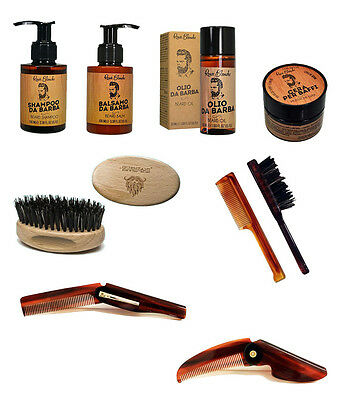 Renee White Treatment Products Shaving Shampoo Balsamo Oil Wax For Mustache • 4.17£