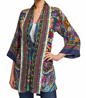 $199 • Buy Johnny Was Women's Multicoloured Hanna Kimono C40719-O