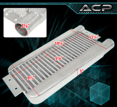 $125.99 • Buy Universal Performance Intercooler Front Mount Turbocharge Supercharge Bar Plate