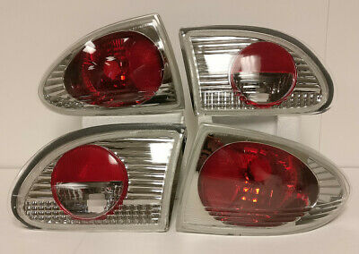 $38.99 • Buy Altezza Tail Lights Lamps Red Chrome For 95 96 97 98 99 00 01 02 Cavalier